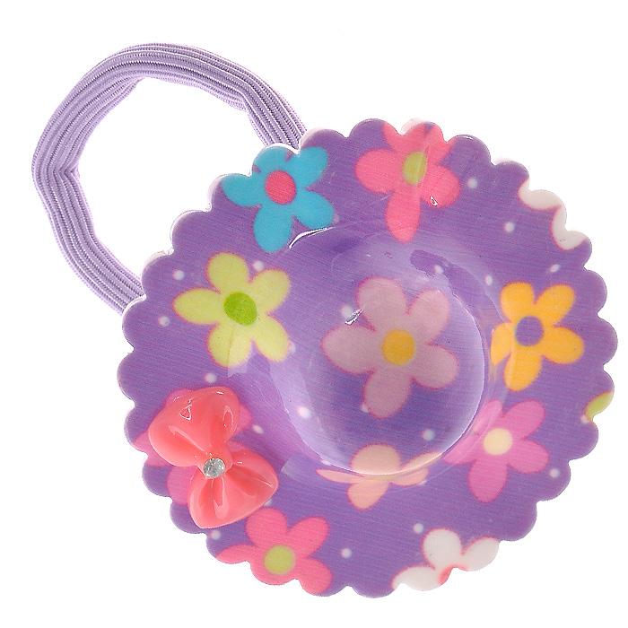 """Резинка для волос """"Fashion House"""", цвет: фиолетовый. 00024 ( 00024 )"""