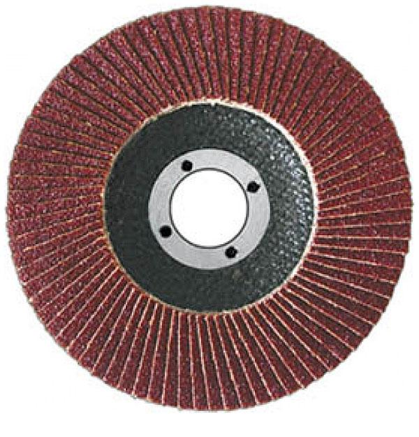 Диск наждачный FIT, лепестковый, 115 мм, Р80 39554