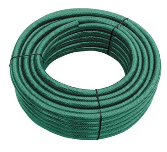 Шланг поливочный FIT армированный, 3/4 x 2,5мм, 50 м. 7728877288Поливочный шланг FIT предназначен для подачи воды к месту полива. Долговечный 3-слойный шланг из полиэстера имеет сетчатое армирование полиамидной нитью, что препятствует скручиванию и изломам. Безопасен для окружающей среды и здоровья человека за счет отсутствия в его составе вредных токсичных веществ, таких как кадмий, барий, свинец. Устойчив к воздействиям внешней среды, таким как: абразивный износ и образование водорослей на внутренней поверхности. Имеет длительный срок эксплуатации, не обесцвечивается, не теряет форму со временем. Используется при температуре от 0 до +50С.