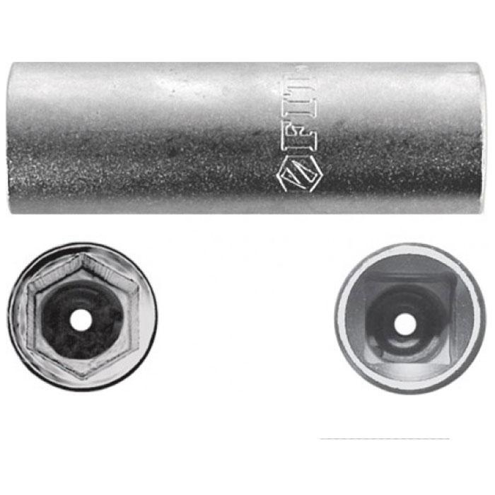 Головка свечная FIT, CrV 1/2 х 21 мм. 6266862668Свечная головка FIT предназначена для монтажа/демонтажа свечей зажигания двигателя внутреннего сгорания с помощью ручного инструмента. Выполнена из качественной хром-ванадиевой стали, что делает ее устойчивой к коррозии и износу. Изделие обладает большим рабочим ресурсом и выдерживает интенсивные нагрузки, поэтому его широко используют и в автосервисах.