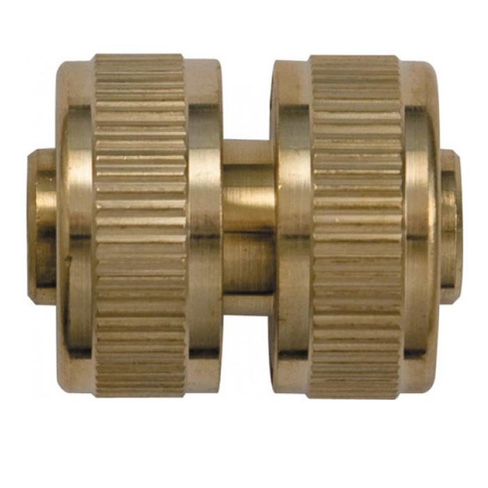 Муфта ремонтная FIT, латунь, 3/477451Предназначена для быстрого соединения двух участков поливочного шланга 3/4 для ремонта поврежденного участка или наращивания длины. Характеристики: Материал: ABS пластик, резина. Размер муфты: 5,5 см х 3,5 см х 3,5 см. Размер в упаковке: 9,7 см х 14,6 см х 5 см.