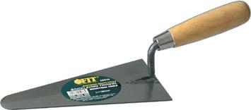 Мастерок плиточника FIT, треугольник, 180 мм05038Мастерок плиточника FIT используется для размешивания и нанесения строительных растворов. Нержавеющее полотно, деревянная рукоятка.
