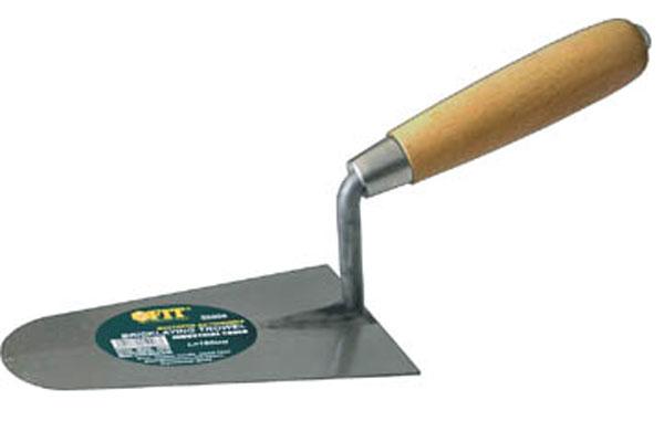 Мастерок бетонщика FIT, полукруг, 180 мм05008Мастерок бетонщика FIT используется для размешивания и нанесения строительных растворов. Нержавеющее полотно, деревянная рукоятка.