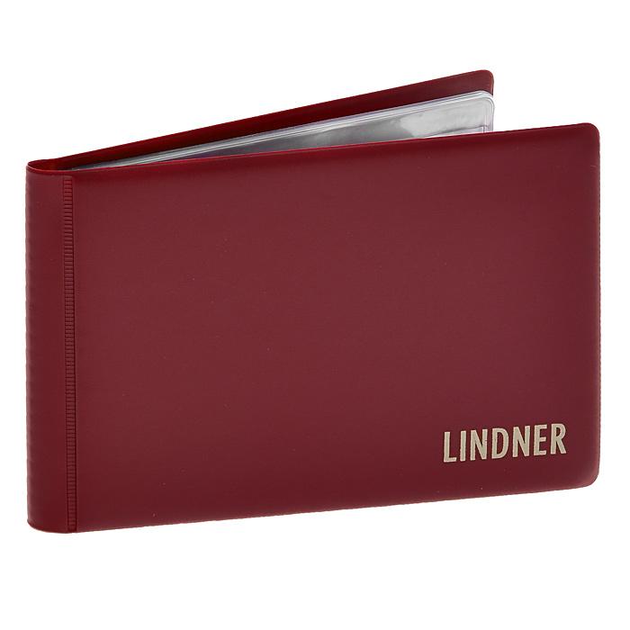 Альбом Lindner для монет, с листами, цвет: бордовый. L2070 EL2070 EАльбом Lindner для монет с листами из твердого ПВХ. Альбом выполнен в переплете из ПВХ бордового цвета, имеет внутри 8 прозрачных листов. На одной странице располагается по одному прозрачному вкладышу для крепления шести монет диаметром до 40 мм. Альбом является незаменимой принадлежностью коллекционера, предназначенной как для размещения коллекции, так и для хранения дублетов или транспортировки коллекционного материала.