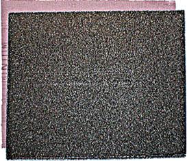 Бумага наждачная на тканевой основе FIT, 23 х 28 см, 10 шт, Р100