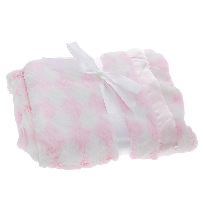 Плед детский на атласной подкладке Ромбики, цвет: розовый, 76 см х 101 см50420_розовыйМягкий и уютный детский плед Ромбики словно создан для того, чтобы окружить теплотой и радостью маленькую кроху. Он прекрасно подходит для укрывания малыша как дома, так и на прогулке в коляске. С одной стороны плед выполнен из мягкого плюшевого полиэстера, с другой - из атласной ткани. Плед очень мягкий, нежный и приятный на ощупь. Благодаря размерам и практичному материалу плед очень удобен в использовании. Детский плед Ромбики - лучший выбор родителей, которые хотят подарить ребенку ощущение комфорта и надежности уже с первых дней жизни. Рекомендации по уходу: Машинная стирка при 30°С, деликатный отжим. Характеристики: Размер: 76 см х 101 см. Материал: 100% полиэстер. Изготовитель: Индия.
