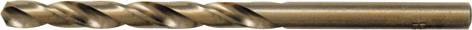 Набор сверл по металлу FIT, 5,1 х 86 мм, 10 шт. 3395133951Сверло по металлу FIT предназначено для выполнения сквозных и глухих отверстий в легированной и нелегированной стали, сером чугуне, металлокерамическом сплаве на основе железа, ковком чугуне, цветном металле. Сверло изготовлено из HSS стали с 5% добавкой кобальта. Оснастка имеет цилиндрический хвостовик. Работает в правом направлении.