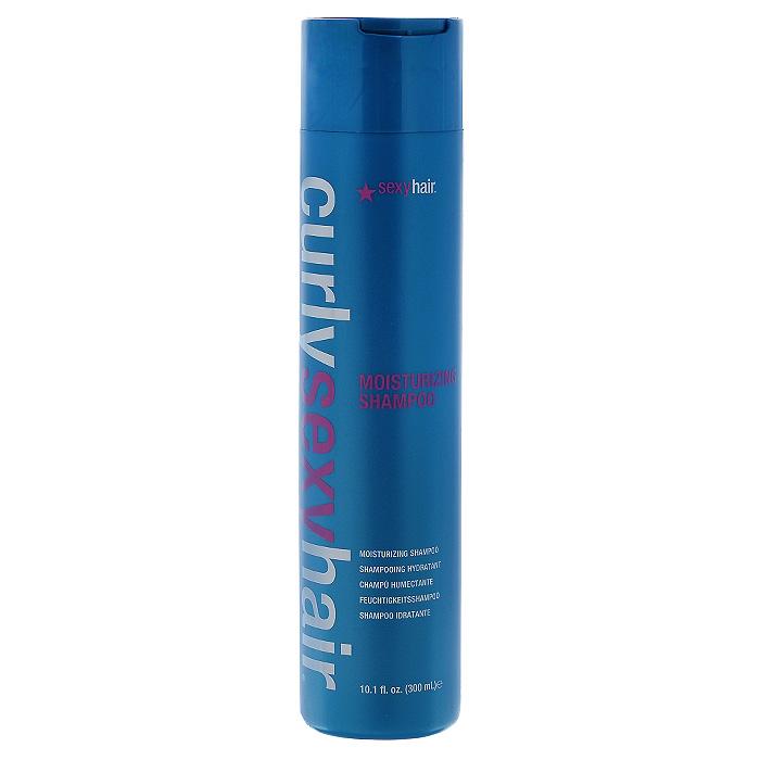 Sexy Hair Шампунь для волос Curly, для кудрей, 300 млКУ8Новая формула DinamiX увеличивает количество завитков. Подходит для всех типов вьющихся волос. Придает форму локонам и делает волосы послушными, устраняя эффект мелкого беса. Бережно очищает. В состав шампуня входят протеины шелка, сои и пшеницы, масла жожоба и авокадо, которые эффективно укрепляют и увлажняют волосы. Специальные ингредиенты придают четкую форму локонам.