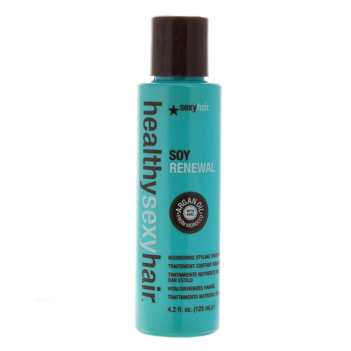 Sexy Hair Маска для волос Healthy, на масле арганы, несмываемая, 125 млЗД19Маска для волос Sexy Hair Healthy содержит чистое масло арганы, которое ценится за свои питательные, косметические и лечебные свойства. Оптимально регулирует влажность волос. Питает и оздоравливает волосы, поврежденные красителями и горячей укладкой. Защищает волосы от высоких температур. Значительно сокращает время сушки волос и ускоряет укладку. Впитывается в волосы сразу же, придавая мгновенный блеск. Не утяжеляет и не склеивает волосы. Идеально для ломких и тонких волос. Защищает от воздействия УФ-лучей и других отрицательных экологических факторов. Возвращает безжизненным волосам блеск и мягкость. Для всех типов волос.