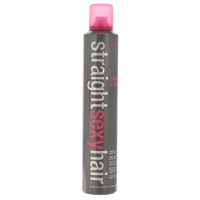 Sexy Hair Спрей для волос Straight, разглаживающий, 300 млПР6Спрей для волос Sexy Hair Straight смягчает, распутывает и разглаживает волосы. Рекомендован для всех типов волос. Спрей удаляет завитки и усиливает блеск, помогает волосам долго оставаться прямыми и гладкими. Защищает волосы от влажности. Активные увлажняющие компоненты обеспечивают эффект кондиционирования, разглаживая чешуйки кутикул. Антистатический эффект. Характеристики: Объем: 300 мл. Производитель: США. Товар сертифицирован.