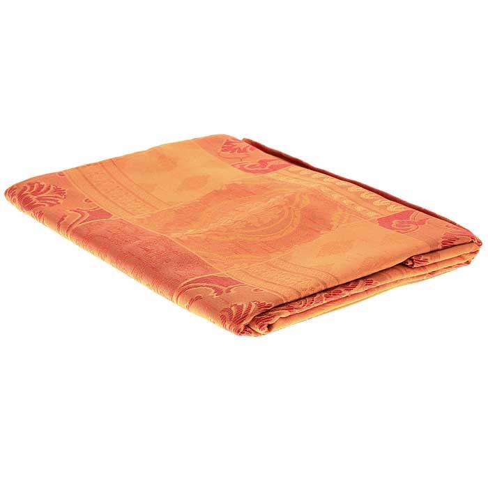 Гардина Schaefer на петлях, цвет: оранжевый, 140 см х 250 см. 06613-60506613-605Гардина Schaefer выполнена из полиэстера оранжевого цвета с изысканных витиеватым рисунком. В верхнюю часть гардины вшиты специальные петли. Для подвешивания гардины достаточно лишь продеть в них карниз. Гардина прекрасно подойдет для подвешивания на настенный карниз. Оригинальное оформление гардины внесет разнообразие и подарит заряд положительного настроения. Характеристики: Материал: 100% полиэстер. Размер гардины (Ш х В): 140 см х 250 см. Цвет: оранжевый. Ширина петли: 4,5 см. Длина петли: 10 см. Артикул: 06613-605. Немецкая компания Schaefer создана в 1921 году. На протяжении всего времени существования она создает уникальные коллекции домашнего текстиля для гостиных, спален, кухонь и ванных комнат. Дизайнерские идеи немецких художников компании Schaefer воплощаются в текстильных изделиях, которые сделают ваш дом красивее и уютнее и не останутся незамеченными вашими гостями. Дарите себе и близким красоту каждый день!