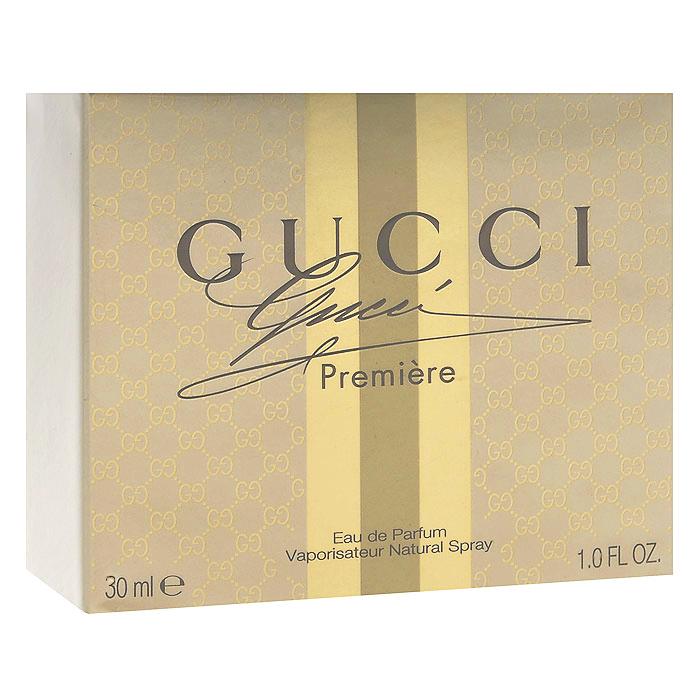 Gucci Парфюмерная вода Premiere, 30 мл0737052495538Gucci Premiere - аромат для прекрасной, успешной женщины, которая наслаждается каждой минутой своей жизни, где бы она ни была - на красной дорожке или на званом обеде. Самое первое знакомство с элегантным и женственным Gucci Premiere начинается с гармоничного цитрусового аккорда, сотканного из нот бергамота и цветка апельсинового дерева. В сердце аромата – чувственный древесный мотив, на фоне которого звучит нежная нота белых цветов. А шлейф композиции – воплощение соблазна и страсти – представлен нотами кожи и мускуса. Gucci Premiere – идеальный аксессуар для самых незабываемых свиданий. Классификация аромата: древесный, мускусный. Пирамида аромата: верхние ноты - бергамот, апельсиновый цвет; ноты сердца - белые цветы, мускус, ноты шлейфа - древесные ноты, кожа. Товар сертифицирован.