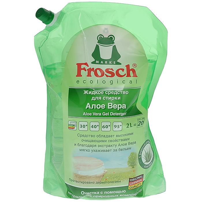 Жидкое средство для стирки Frosch, с Алоэ Вера, 2 л709282Жидкое средство Frosch подходит для стирки всех видов тканей при температуре от 20°C до 95°C. Средство обладает высокими очищающими свойствами и благодаря экстракту Алоэ Вера мягко ухаживает за бельем. Благодаря отобранным ароматизирующим добавкам, входящим в состав, сводится к минимуму риск появления раздражений на коже. Не содержит красителей и консервантов. Подходит для предварительной обработки трудновыводимых пятен. Торговая марка Frosch специализируется на выпуске экологически чистой бытовой химии. Для изготовления своей продукции Frosch использует натуральные природные компоненты. Ассортимент содержит все необходимое для бережного ухода за домом и вещами. Продукция торговой марки Frosch эффективно удаляет загрязнения, оберегает кожу рук и безопасна для окружающей среды. Характеристики: Объем: 2 л. Товар сертифицирован.