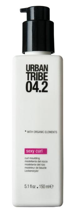 Urban Tribe Крем Sexy Curl для укладки вьющихся волос, 150 мл