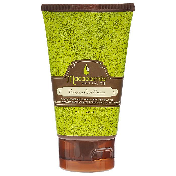 Macadamia Natural Oil Крем для волос оздоравливающий, для кудрей, 60 млММ45Восстанавливающий питательный крем Macadamia Natural Oil для кудрей, обеспечивает мягкую фиксацию и придает удивительную форму завиткам и локонам. Идеально подходит для вьющихся волос любой текстуры. Глубоко увлажняет и помогает зафиксировать влагу внутри волос, одновременно препятствуя воздействию влаги из окружающей среды, которая приводит к пушистости и ослаблению завитков. Выделяет и подчеркивает локоны и волны. Предотвращает пушистость и отвисание локонов. Добавляет мягкости и защищает волосы от окружающей среды. Защищает от УФ. Сохраняет цвет окрашенных волос.