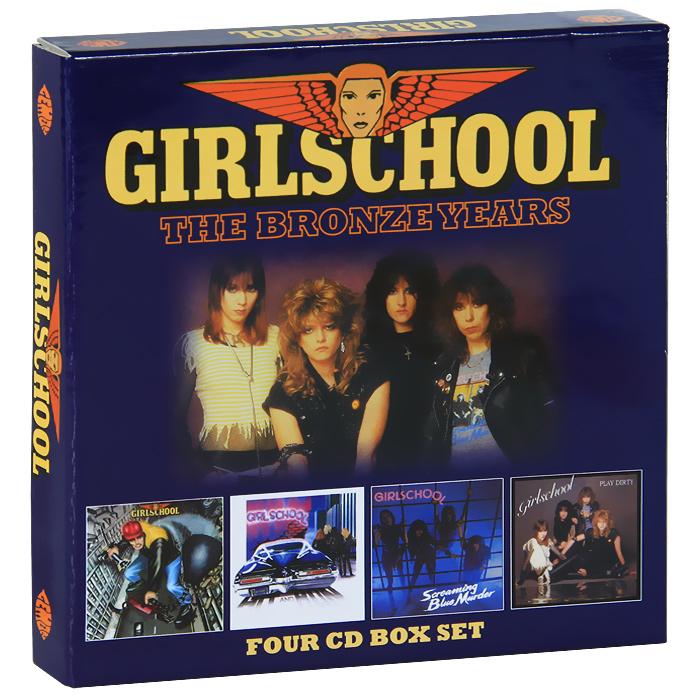 Girlschool. The Bronze Years (4 CD)