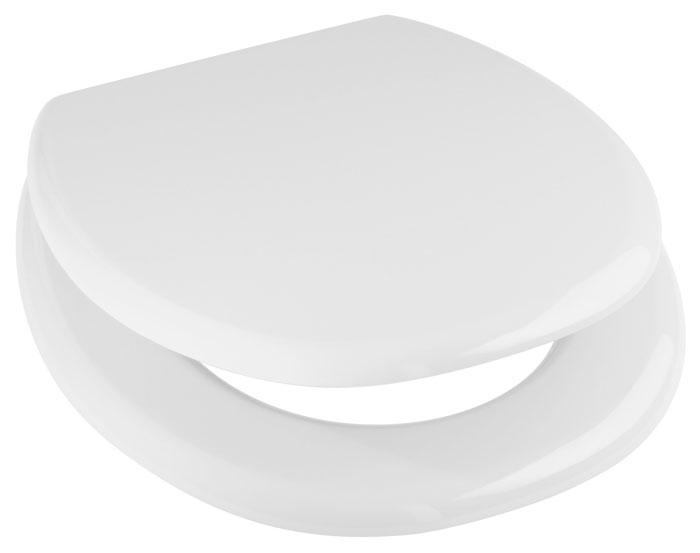 "Сиденье для унитаза Duschy ""White"", цвет: белый, 44 х 37 х 5 см 803-10"