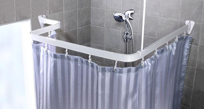 Карниз гибкий для ванной Flex, цвет: белый, длина 300 см688-10Карниз Flex выполнен из алюминия и предназначен для крепления душевой шторки в ванной комнате. В комплект входят три блока по 100 см, 12 крючков, две штанги для крепления уголков к потолку и шурупы. Карниз гибкий, ему легко придать любую форму. На задней стороне упаковки нарисована подробная инструкция по сборке карниза. Характеристики: Материал: алюминий, пластик. Цвет: белый. Максимальная длина карниза: 300 см. Размер упаковки: 17 см х 104 см х 5 см. Производитель: Швеция. Изготовитель: Китай. Артикул: 688-10.