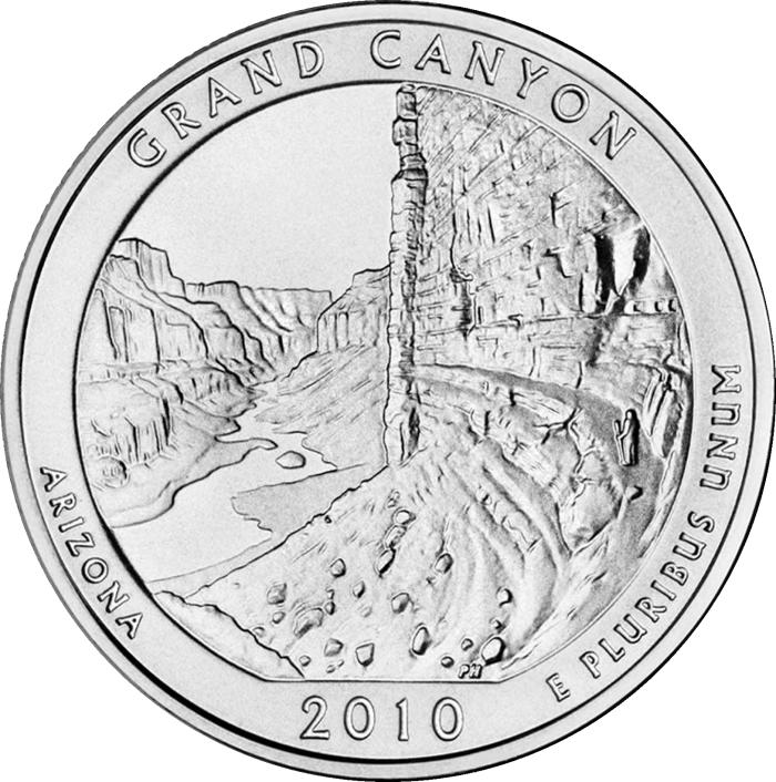Монета номиналом 25 центов серии