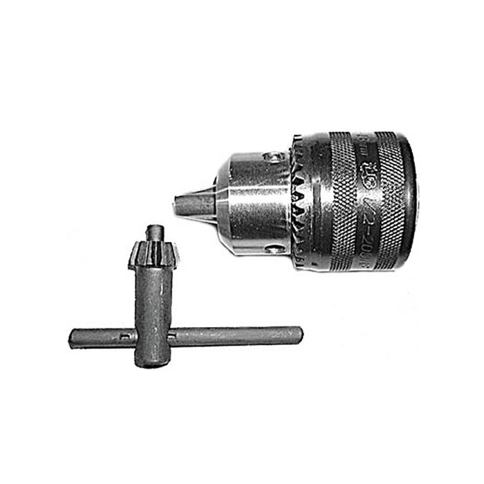 Патрон для дрели FIT, ключевой, 1/2, 1,5-13 мм37843Патрон для дрели FIT используется с аккумуляторными, ручными, электро-дрелями и шуруповертами. Оснастка применяется для зажима и фиксации различного инструмента. Оптимально подходит для фрез, сверл, буров и многого другого с шестигранным, трехгранным и цилиндрическим хвостовиком.