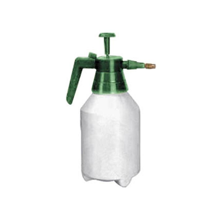 Опрыскиватель ручной FIT, цвет: зеленый, белый, 1,5 литра77327Опрыскиватель ручной FIT применяется для разбрызгивания различных жидкостей, в том числе и химикатов. Емкость изготовлена из пластика с латунным носиком. Напор можно регулировать с помощью поворотного сопла. Данный опрыскиватель на 1,5 литра можно использовать также для дезинсекции помещений.