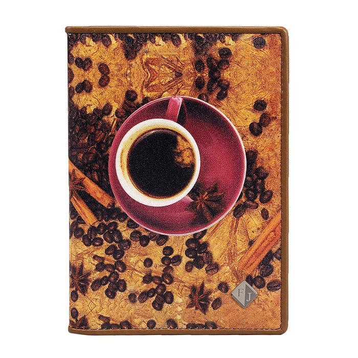 Обложка на паспорт Flioraj Gold Coffeebeans, цвет: коричневый, розовый. 306-14183306-14183/CoffeebeansУдобная и практичная обложка для паспорта Coffeebeans от итальянского бренда Flioraj выполнена из натуральной кожи высокого качества и декорирована стильным фотопринтом с изображением чашки кофе и кофейных зерен. Внутренняя часть обложки обтянута мягкой тканью. Такая обложка не только поможет сохранить внешний вид ваших документов и защитит их от повреждений, но и станет стильным аксессуаром, идеально подходящим вашему образу. Яркая и оригинальная обложка подчеркнет вашу индивидуальность и изысканный вкус. Характеристики: Материал: натуральная кожа, текстиль. Размер в сложенном виде: 9,5 х 13,5 см. Размер коробки: 19 см x 12,5 см x 4 см. Производитель: Италия. Артикул: 306-14183.