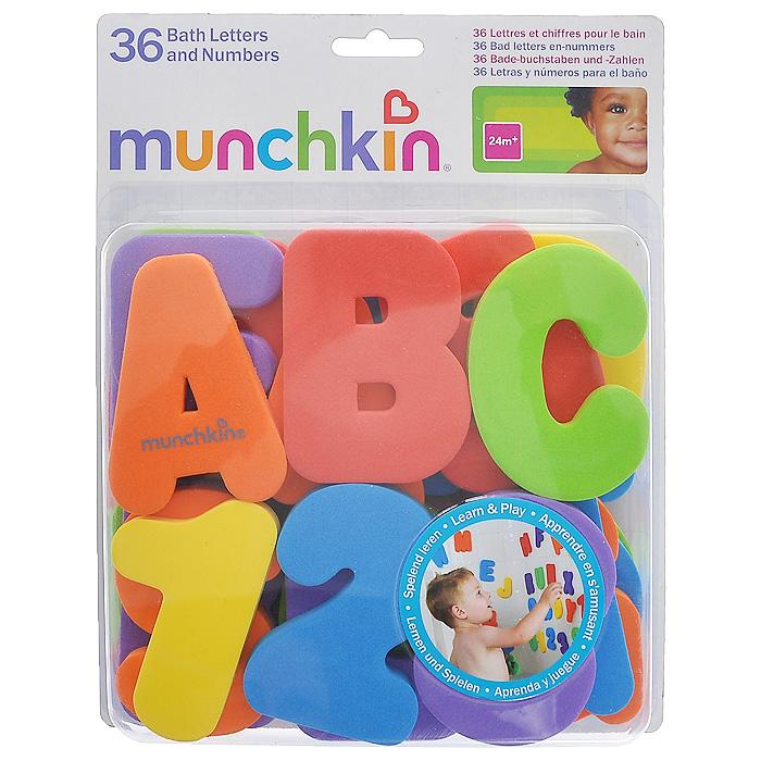 Игрушка для ванны Munchkin Буквы и цифры11108Игрушка для ванны Munchkin Буквы и цифры не позволит вашему ребенку скучать и превратит купание в веселую игру. В комплект входят 26 букв латинского алфавита и 10 цифр шести цветов. Когда буквы и цифры влажные, они легко прилипают к стене ванной комнаты. Малыш сможет в игровой форме познакомиться с буквами и цифрами и запомнить их, составлять из них слова и различные сочетания цифр. Кредо Munchkin, американской компании с 20-летней историей: избавить мир от надоевших и прозаических товаров, искать умные инновационные решения, которые превращает обыденные задачи в опыт, приносящий удовольствие. Понимая, что наибольшее значение в быту имеют именно мелочи, компания создает уникальные товары, которые помогают поддерживать порядок, организовывать пространство, облегчают уход за детьми - недаром компания имеет уже более 140 патентов и изобретений, используемых в создании ее неповторимой и оригинальной продукции. Munchkin делает жизнь родителей легче! Характеристики: ...