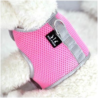 """Шлейка """"Crazy Paws"""", цвет: розовый. Размер S DPETH011-L.PK"""