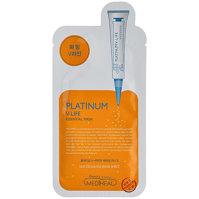 Beauty Clinic Маска с эффектом V-лифтинга, с наноплатиной, 25 мл550116Маска Beauty Clinic для лица с наноплатиной, трегалозой и экстрактом граната эффективно ухаживает за увядающей кожей лица, делает более четким V- контур, придает коже лица упругость и эластичность. Активные компоненты: Наноплатина - мощнейший антиоксидант, улучшает микроциркуляцию крови, метаболизм и питание клеток, замедляет процесс старения. Экстракт граната обладает антиоксидантными свойствами, предупреждая преждевременное старение. Улучшает влагосберегающие свойства кожи, стимулирует синтез коллагена и уменьшает пигментацию. Протеины пшеницы насыщают кожу питательными веществами, придают ей свежий и здоровый вид. Нежная маска из целлюлозы обеспечит глубокое проникновение питательных веществ. Способ применения: очистите кожу лица, достаньте маску из упаковки, разверните и аккуратно наложите ее на лицо. Оставьте маску на 15-20 минут, после чего снимите ее. Легкими постукивающими движениями пальцев вбейте оставшийся экстракт...