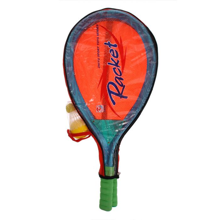 """Zhiyu Toys Набор для игры в теннис, бадминтон """"Racket"""", 4 предмета в ассортименте"""