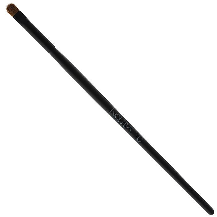 Nouba Кисть для губ и век, №10N08310Кисть для губ и век Nouba нового, более удобного дизайна изготовлена из натурального ворса соболя. Кисть предназначена для нанесения теней или средств для макияжа губ.