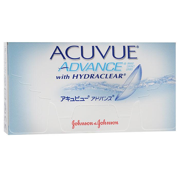 Johnson & Johnson контактные линзы Acuvue Advance (6шт / 8.7 / -6.00)