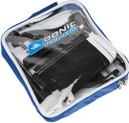 Сетка для настольного тенниса Donic-Schildkrot Friend808313Качественная сетка Donic на пластиковых стойках с винтовым креплением. Натяжение и высота сетки регулируются.