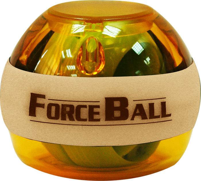 Кистевой тренажер Forceball Neon, цвет: оранжевыйLS3320 L AmberКомплектация: кистевой тренажер, ремешок на руку, инструкция, 1 шнурок для завода. Forceball Neon — модель с подсветкой, без счетчика Отличный кистевой тренажер и безупречный подарок для представителей сильного пола: функциональный, полезный, невероятно красивый. Имеет неоновые светодиоды, которые во время вращения гироскопа излучают яркое свечение. Характеристики: Материал: пластик, резина. Диаметр: 6,5 см. Размер упаковки: 10 см х 8 см х 8 см. Артикул: LS3320 L Amber.