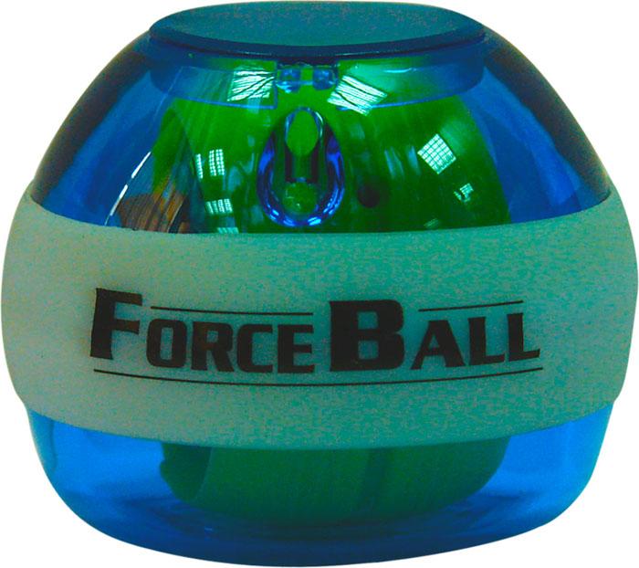 Кистевой тренажер Forceball Neon, цвет: синийLS3320 L BlueКомплектация: кистевой тренажер, ремешок на руку, инструкция, 1 шнурок для завода. Forceball Neon — модель с подсветкой, без счетчика Отличный кистевой тренажер и безупречный подарок для представителей сильного пола: функциональный, полезный, невероятно красивый. Отличается комплектацией неоновыми светодиодами, которые во время вращения гироскопа излучают яркое свечение.