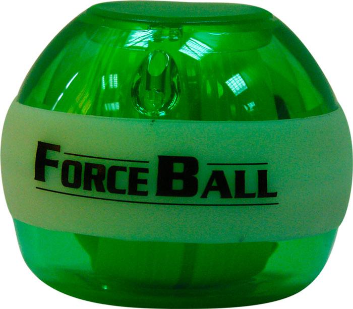Кистевой тренажер Forceball Neon, цвет: зеленыйLS3320 L GreenКомплектация: кистевой тренажер, ремешок на руку, инструкция, 1 шнурок для завода. Forceball Neon — модель с подсветкой, без счетчика Отличный кистевой тренажер и безупречный подарок для представителей сильного пола: функциональный, полезный, невероятно красивый. Отличается комплектацией неоновыми светодиодами, которые во время вращения гироскопа излучают яркое свечение.