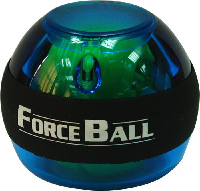 Кистевой тренажер Forceball, цвет: синийLS3320 BlueКомплектация: кистевой тренажер, ремешок на руку, инструкция, 1 шнурок для завода. Forceball - это базовый кистевой тренажер без счетчика и подсветки Стильный тренажер для кисти рук, который можно использовать в любую свободную минуту и в любом удобном месте. Отлично продуманная конструкция приспособления и рабочая частота 250 Гц обеспечивают плавное вращение ротора на скорости до 15 000 оборотов в минуту.
