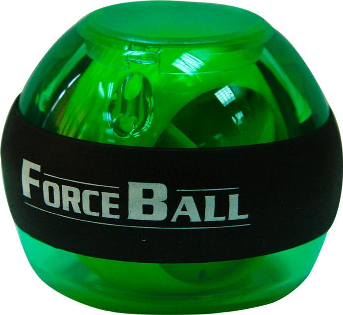 Кистевой тренажер Forceball, цвет: зеленыйLS3320 GreenКомплектация: кистевой тренажер, ремешок на руку, инструкция, 1 шнурок для завода. Forceball Regular - это базовый кистевой тренажер без счетчика и подсветки Стильный тренажер для кисти рук, который можно использовать в любую свободную минуту и в любом удобном месте. Отлично продуманная конструкция приспособления и рабочая частота 250 Гц обеспечивают плавное вращение ротора на скорости до 15000 оборотов в минуту.