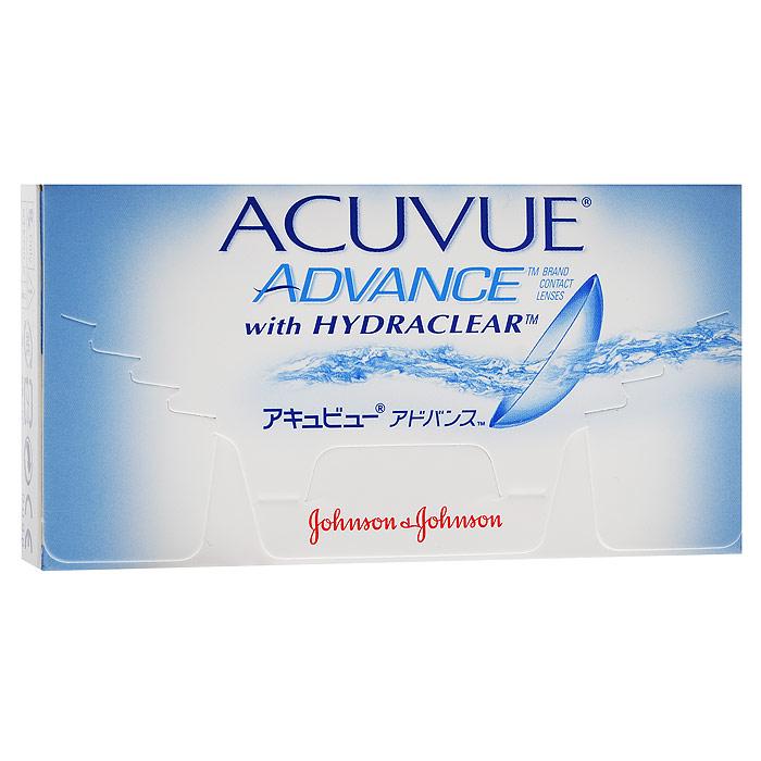 Johnson & Johnson контактные линзы Acuvue Advance (6шт / 8.7 / -0.75)