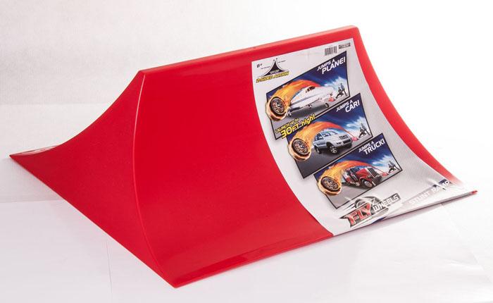 Игрушка Flywheels Рампа55319Рампа для направленного запуска колес Flywheels. Имеет 2 стороны. Одна - для вертикального пуска, другая для максимально длинного запуска.