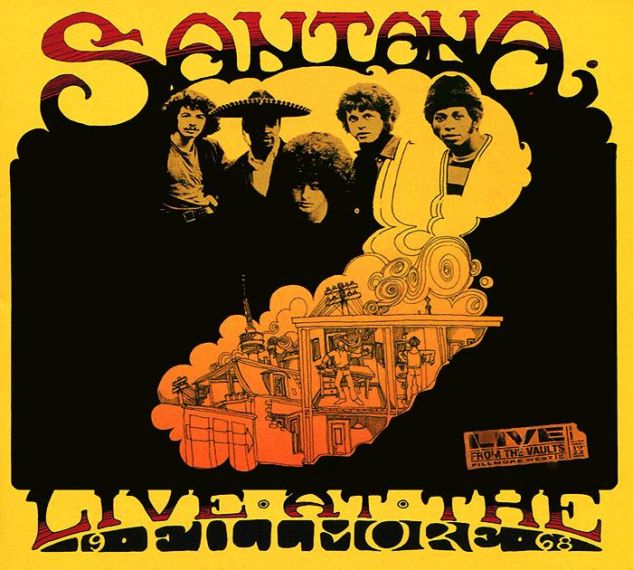 Santana. Live At The Fillmore 1968 (2 CD)
