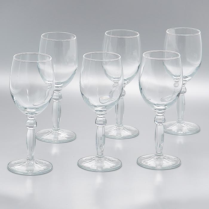 Набор фужеров Step, 210 мл, 6 шт44654Набор Step, состоящий из шести фужеров на высокой ножке, изготовленых из прочного высококачественного прозрачного стекла, несомненно, придется вам по душе. Фужеры предназначены для подачи вина. Фужеры сочетают в себе элегантный дизайн и функциональность. Благодаря такому набору пить напитки будет еще вкуснее. Набор фужеров Step идеально подойдет для сервировки стола и станет отличным подарком к любому празднику. Характеристики: Материал: стекло. Диаметр фужера по верхнему краю: 6 см. Высота фужера: 17 см. Диаметр основания фужера: 7 см. Объем фужера: 210 мл. Комплектация: 6 шт. Размер упаковки (Д х Ш х В): 23 см х 15 см х 18 см. Производитель: Турция. Артикул: 44654.