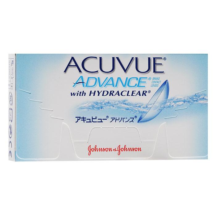 Johnson & Johnson контактные линзы Acuvue Advance (6шт / 8.3 / +5.25)00464Acuvue Advance with Hydraclear - мягкие контактные линзы компании Johnson & Johnson. Они относятся к новому поколению силикон-гидрогелевых контактных линз, которые обеспечивают высокий уровень комфорта на протяжении целого дня. Контактные линзы Acuvue Advance with Hydraclear подойдут для ношения каждый день в течение двух недель. Галифилкон А - силикон-гидрогелевый материал, из которого производят линзы, обладает уникальным свойством отлично пропускать кислород к роговице глаз. Технология Hydraclear позволила внедрить в материал достаточное количество увлажняющих составляющих, способных обеспечить уникальное ощущение мягкости и гладкости. Благодаря этому ваши глаза будут выглядеть здоровыми и свежими даже в конце дня. Ультрафиолетовый фильтр блокирует более 90% УФ-A лучей и 99% - УФ-В лучей. Контактные линзы Acuvue Advance with Hydraclear подойдут людям, которые страдают как от миопии (близорукости), так и гиперметропии (дальнозоркости). Несмотря на любые ваши...