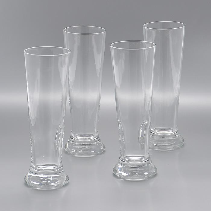 Набор стаканов для пива Lesprit, 380 мл, 4 штПт 922899Набор Lesprit, выполненный из высококачественного стекла, состоит из четырех стаканов. Высокие стаканы с утолщенным дном предназначены для подачи пива. Их оценят как любители классики, так и те, кто предпочитает современный дизайн. Набор идеально подойдет для сервировки стола и станет отличным подарком к любому празднику.