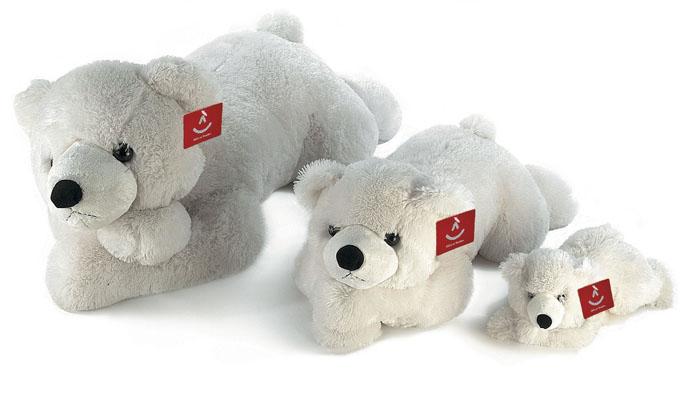 Мягкая игрушка Aurora Медведь, лежачий, цвет: белый, 100 см301-18Очаровательная мягкая игрушка Медведь, выполненная в виде медвежонка белого цвета, вызовет умиление и улыбку у каждого, кто ее увидит. Удивительно мягкая игрушка принесет радость и подарит своему обладателю мгновения нежных объятий и приятных воспоминаний. Она выполнена из экологически чистых материалов - плюша с набивкой из гипоаллергенного синтепона и пластмассовых гранул. Великолепное качество исполнения делают эту игрушку чудесным подарком к любому празднику. Характеристики: Высота игрушки: 100 см. Материал игрушки: плюша, синтепон, текстиль, пластик. Материал набивки: синтепон. Изготовитель: Индонезия.