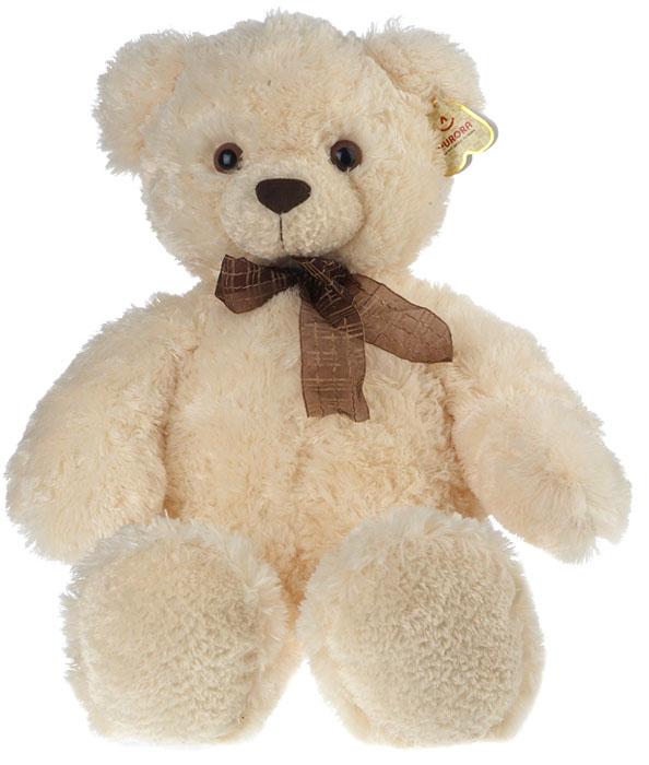 Мягкая игрушка Aurora Медведь, цвет: белый, 69 см30-150Очаровательная мягкая игрушка Медведь, выполненная в виде медвежонка белого цвета с коричневым в клеточку бантиком на шее, вызовет умиление и улыбку у каждого, кто ее увидит. Удивительно мягкая игрушка принесет радость и подарит своему обладателю мгновения нежных объятий и приятных воспоминаний. Она выполнена из высококачественного плюша с набивкой из гипоаллергенного синтепона. Великолепное качество исполнения делают эту игрушку чудесным подарком к любому празднику.