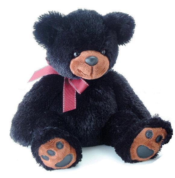 Мягкая игрушка Aurora Медведь, цвет: черный, 50 см31-093Очаровательная мягкая игрушка Медведь, выполненная в виде медвежонка черного цвета с вишнёвым бантиком на шее, вызовет умиление и улыбку у каждого, кто ее увидит. Удивительно мягкая игрушка принесет радость и подарит своему обладателю мгновения нежных объятий и приятных воспоминаний. Она выполнена из высококачественного плюша с набивкой из гипоаллергенного синтепона. Великолепное качество исполнения делают эту игрушку чудесным подарком к любому празднику.