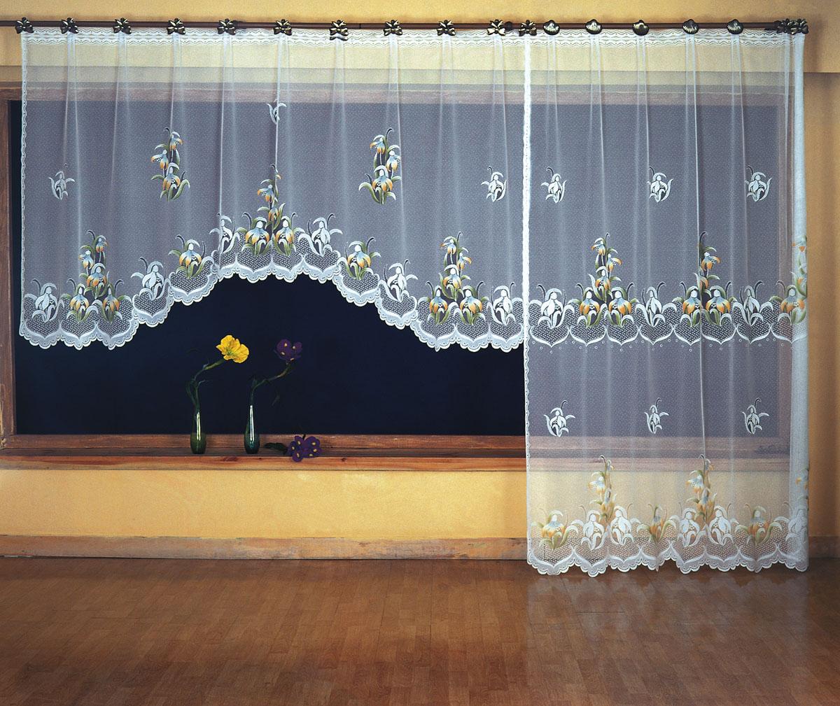 Комплект гардин для балкона Wisan, цвет: белый, высота 250 см374816Комплект воздушных гардин Wisan для балкона, изготовленные из полиэстера белого цвета, декорированы цветочным орнаментом. Гардины станут великолепным украшением балконного окна. В комплект входит короткая гардина для окна и длинная гардина для балконной двери. Тонкое плетение, оригинальный дизайн и приятная цветовая гамма привлекут к себе внимание и органично впишутся в интерьер. Характеристики: Материал: 100% полиэстер. Цвет: белый. Размер упаковки: 26 см х 3 см х 35 см. Артикул: 374816. В комплект входит: Гардина - 1 шт. Размер (ШхВ): 300 см х 150 см. Гардина - 1 шт. Размер (ШхВ): 200 см х 250 см. Фирма Wisan на польском рынке существует уже более пятидесяти лет и является одной из лучших польских фабрик по производству штор и тканей. Ассортимент фирмы представлен готовыми комплектами штор для гостиной, детской, кухни, а также текстилем для кухни (скатерти, салфетки, дорожки, кухонные занавески). Модельный ряд отличает...