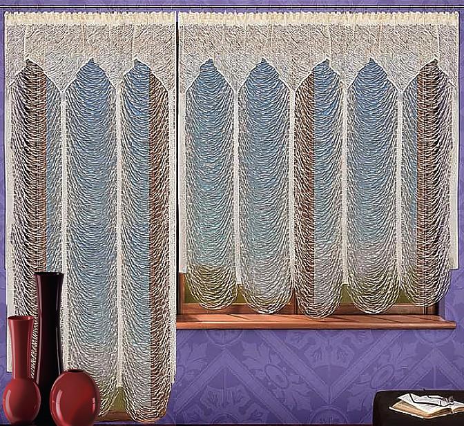 Комплект гардин для балкона Wisan, на ленте, цвет: шампань, высота 250 см737802Комплект гардин Wisan, изготовленный из полиэстера, станет великолепным украшением балконного окна. В комплект входит короткая гардина для окна и длинная гардина для балконной двери. Тонкое плетение, оригинальный дизайн и приятная цветовая гамма привлекут к себе внимание и органично впишутся в интерьер. Все элементы комплекта на шторной ленте для собирания в сборки. Характеристики: Материал: 100% полиэстер. Размер упаковки: 29 см х 36 см х 9 см. Артикул: 737802. В комплект входит: Гардина - 1 шт. Размер (Ш х В): 150 см х 250 см. Гардина - 1 шт. Размер (Ш х В): 400 см х 180 см. Фирма Wisan на польском рынке существует уже более пятидесяти лет и является одной из лучших польских фабрик по производству штор и тканей. Ассортимент фирмы представлен готовыми комплектами штор для гостиной, детской, кухни, а также текстилем для кухни (скатерти, салфетки, дорожки, кухонные занавески). Модельный ряд отличает оригинальный дизайн, высокое...