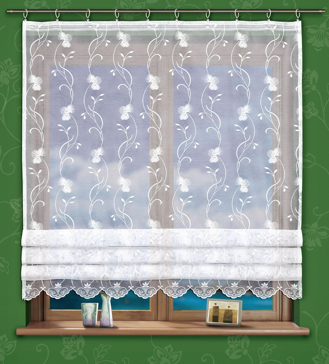 Гардина Salma, на ленте, цвет: белый, высота 150 см737840Воздушная гардина Salma, изготовленная из полиэстера белого цвета, станет украшением любого окна. Тонкое плетение и роскошный цветочный узор привлекут к себе внимание и органично впишутся в интерьер. В гардину вшита шторная лента. Характеристики: Материал: 100% полиэстер. Размер упаковки: 27 см х 35 см х 3 см. Артикул: 737840. В комплект входит: Гардина - 1 шт. Размер (Ш х В): 160 см х 150 см. Фирма Wisan на польском рынке существует уже более пятидесяти лет и является одной из лучших польских фабрик по производству штор и тканей. Ассортимент фирмы представлен готовыми комплектами штор для гостиной, детской, кухни, а также текстилем для кухни (скатерти, салфетки, дорожки, кухонные занавески). Модельный ряд отличает оригинальный дизайн, высокое качество. Ассортимент продукции постоянно пополняется.